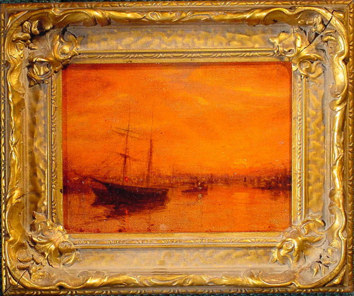T.H. Thompson - Harbor Sunset